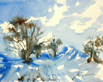New England Winter-Scape No.43, limited edition of 50 fine art giclee prints