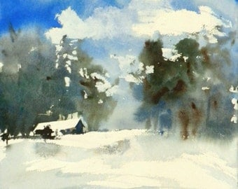 New England Winter-Scape No.66, limited edition of 50 fine art giclee prints