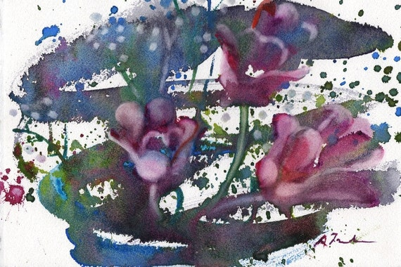Fresh Pick No.132, limited edition of 50 fine art giclee prints from my original watercolor