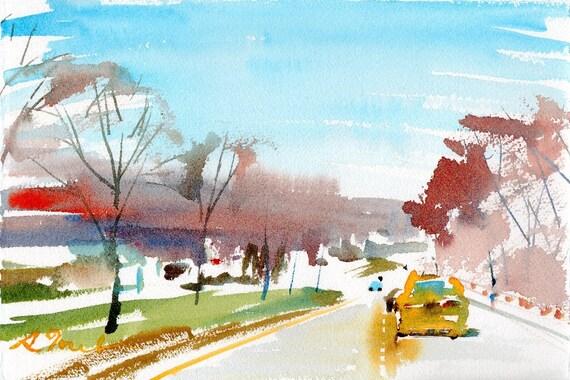 Worcester Sketchbook No.137, limited edition of 50 fine art giclee prints