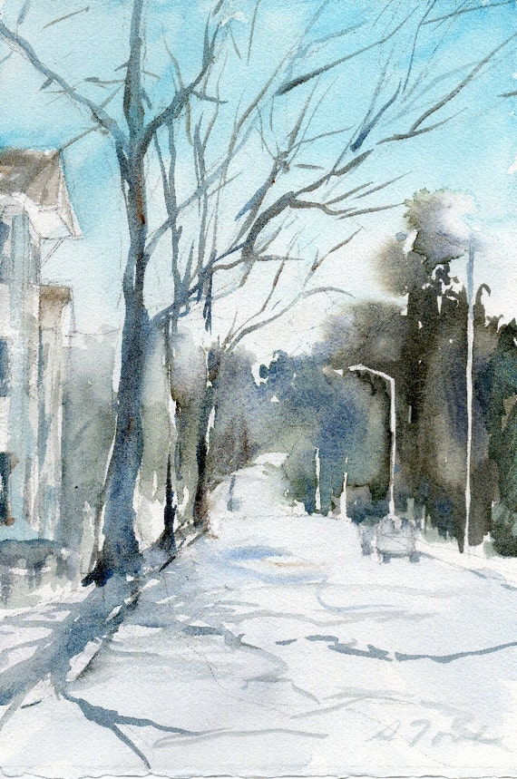 Worcester Sketchbook No.23, limited edition of 50 fine art giclee prints from my original watercolor