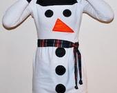 Snowman Dress size MEDIUM - 3 day SALE