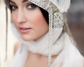 Winter Castle Bridal Hood