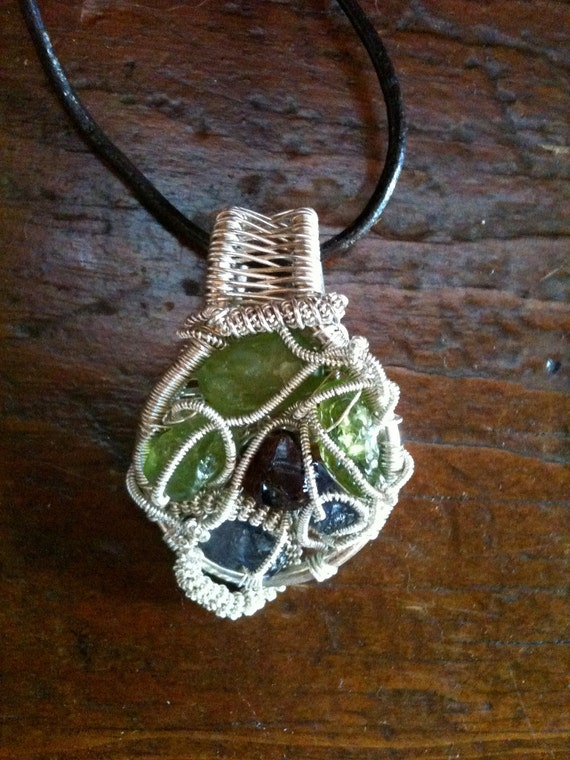 Small but Mighty Wrap Pendant