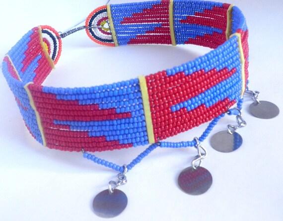 Kioni-Vibrant Handmade Maasai Choker