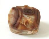Oak Barrel Silicone  Soap Mold ( Soap Republic )