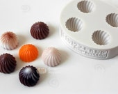 Mini Whipped Cream Frosting (Type A) / 4 in 1 / Silicone Soap Mold ( Soap Republic )