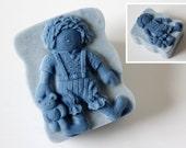 Country Doll Boy Silicone Soap Mold ( Soap Republic )