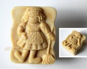 Country Doll Girl Silicone Soap Mold ( Soap Republic )