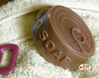Can of Secretes Silicone Soap Mold ( Soap Republic )