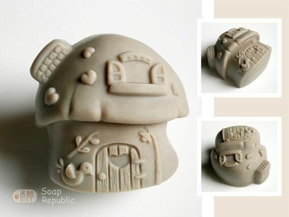 Mushroom House Silicone Soap Mold ( Soap Republic )