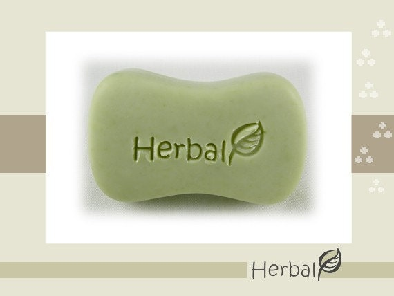 Herbal / Acrylic Soap Stamp ( Soap Republic )