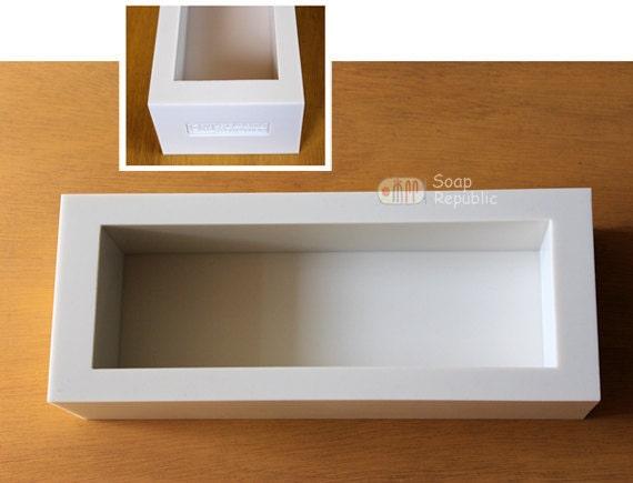 Silicone Loaf Soap Mold / Silicone Soap Mold ( Soap Republic )