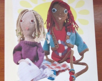 Knitted Babes 5 Dolls and Clothes by Claire Garland Interweave Press