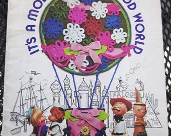 It's a Mod Mod Mod Mod World 0430 yarn craft booklet 1970s