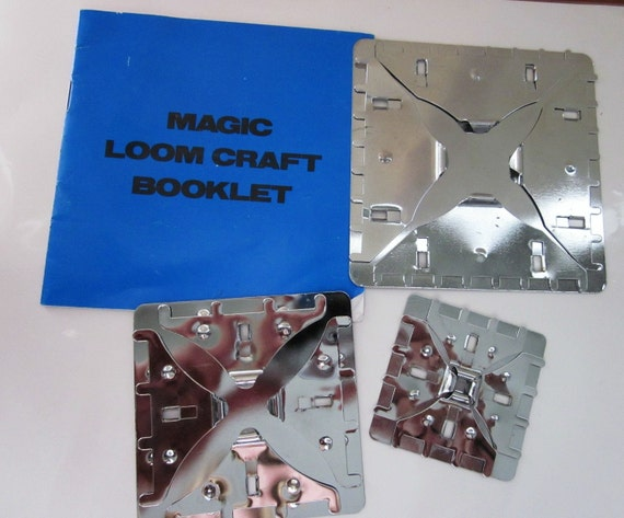 Magic Loom Instructions and 3 Metal Looms Similar to Butterfly