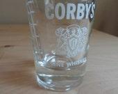 Classy Vintage Shot Glass