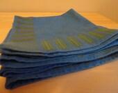 Mid-century Modern Linen Napkins