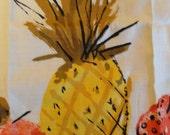 Vera Neumann Pineapple Towel