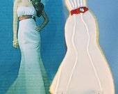 Custom Wedding Dress Cookie