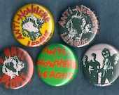 ANTI-NOWHERE LEAGUE Pins Buttons Badges punk oi uk 82