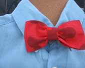 Mickey Mouse clip on bow tie