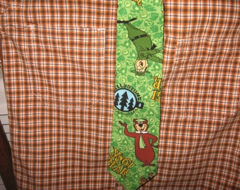 Yogi Bear boys necktie