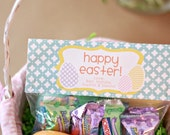 Easter Treat Bag Tags: Patterned Eggs - Printable PDF
