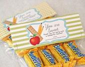 Teacher Gift: You are Sweet Treat Bag Tags - Printable PDF