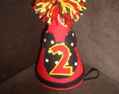 Mickey Birthday Hat - First Birthday - 2nd Birthday -Mickey Mouse Birthday Hat -Customize Colors For Your Birthday Party Hat
