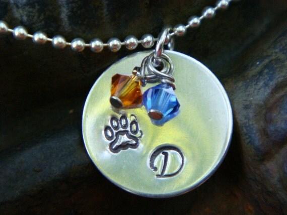 DeWitt Panther School Spirit Necklace