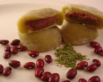 MATCHA DAIFUKU Mochi Balls (Green tea) -Vegan-  Gluten free