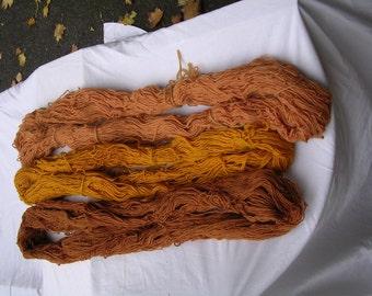 Vegetable Dyed Wool Yarn