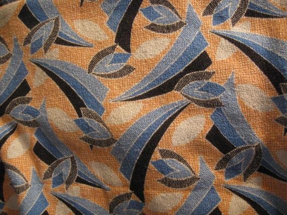 Silk Noile - Art Deco