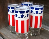 now you can have patriotic glasses to match your patriotic heart.