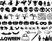 Spooky Halloween Mixer - SVG File pack