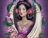 Angel Lotus - Art Print - Brigid Ashwood