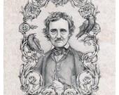 Poe - The Raven Edgar Allan Poe - Brigid Ashwood