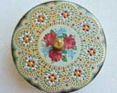 Decorative tin box vintage Holland