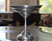 Pewter footed candy dish pedestal  International pewter