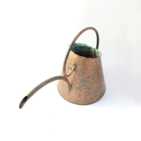 Watering can decorative copper