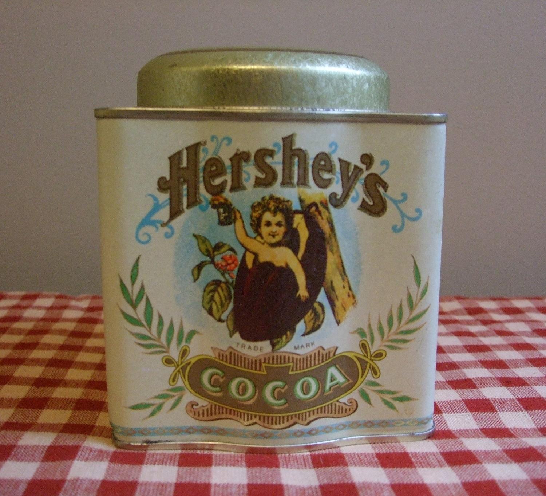 vintage hershey tin anthropologist