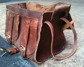 Roomy Tote, Crossbody Messenger Bag, Custom Messenger Tote Bag, Handmade Leather Roomy Tote, Handstitched Leather