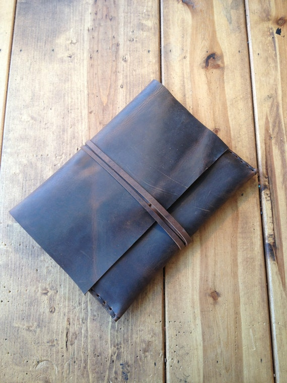 Sale Ipad leather case by Aixa on Etsy