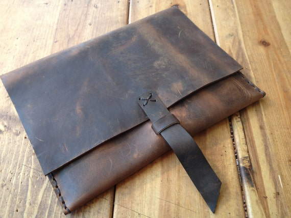 iPad Sleeve, Leather Tablet Case Cover Clutch, Handmade iPad Sleeves, Clutches and Bags Handcrafted in NY