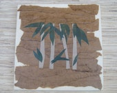 Reserved for Gari Anne - Bamboo Wall Art made from reclaimed wood, recycled materials, ecofriendly artwork