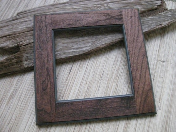 Rustic Cherry Wood Frame Reclaimed Cabinet Door Frame Diy