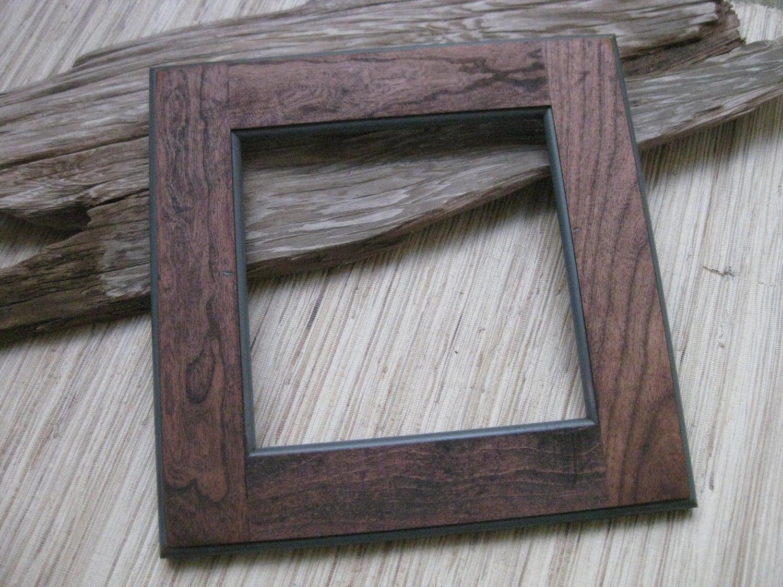 Door Wooden Frame : Rustic Cherry Wood Frame Reclaimed Cabinet Door by TheWoodenBee