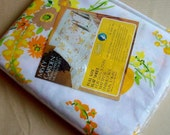 Vintage Full Size Flat Sheet Original Package