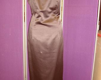 Dark Brown Jim Hjelm Occassion floor length gown